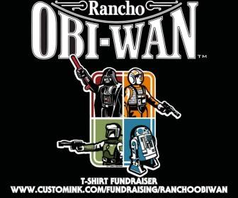 Rancho obi wan t shirt fundraiser final figures fantha for T shirt fundraiser site
