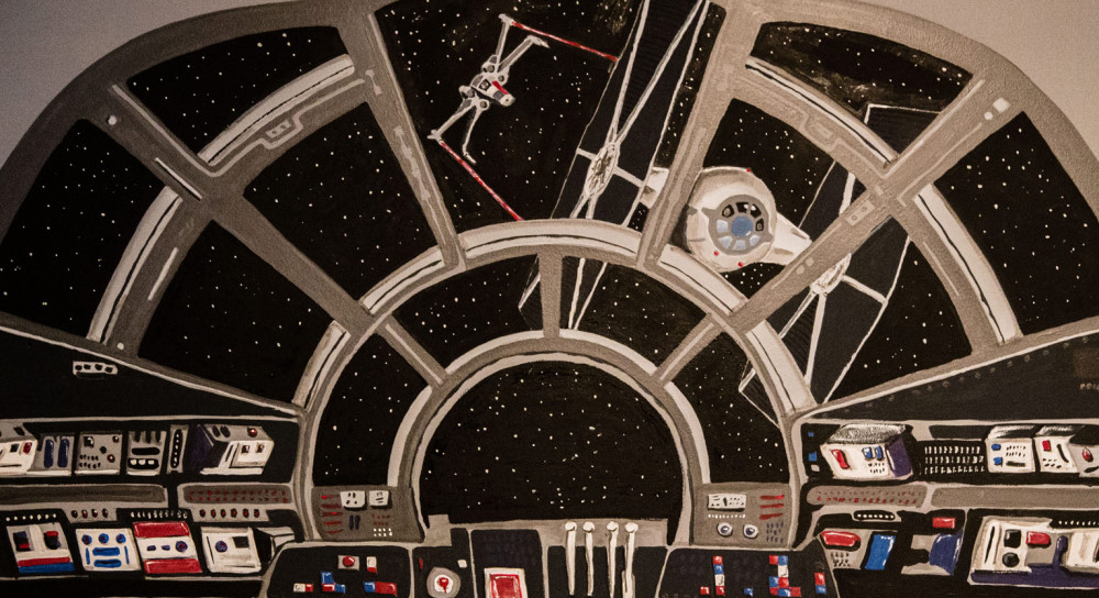 ... Bedroom Of Five Year Old Desmond Weinberger, Who As You May Be Able To  See Is Star Wars Crazy In The Latest Entry In Her Long Running Fully  Operational ...