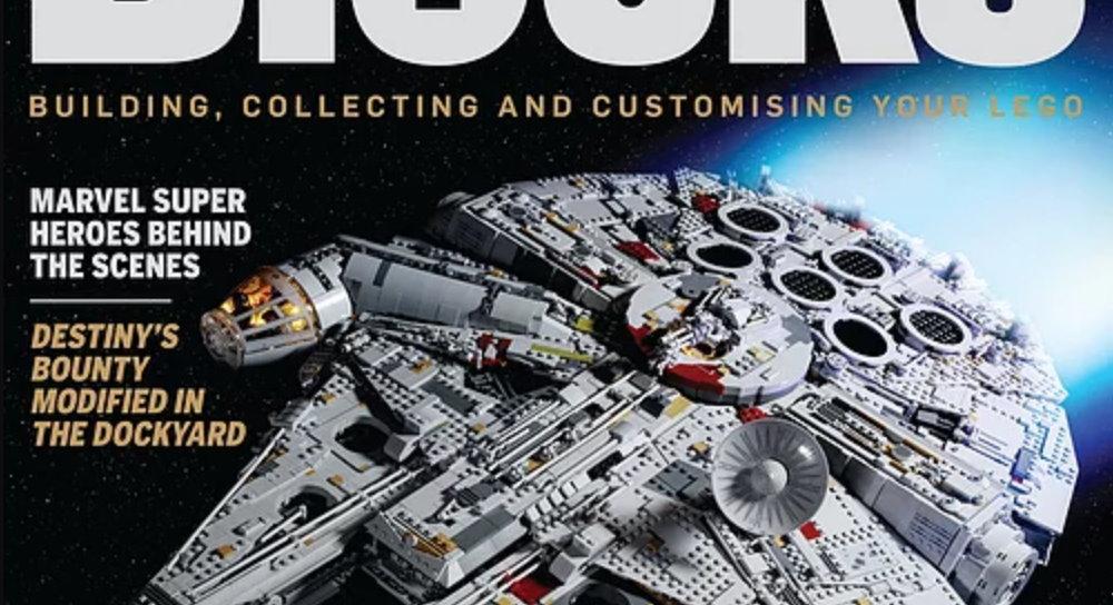Blocks Issue 40 gets onboard the LEGO Star Wars UCS Millennium