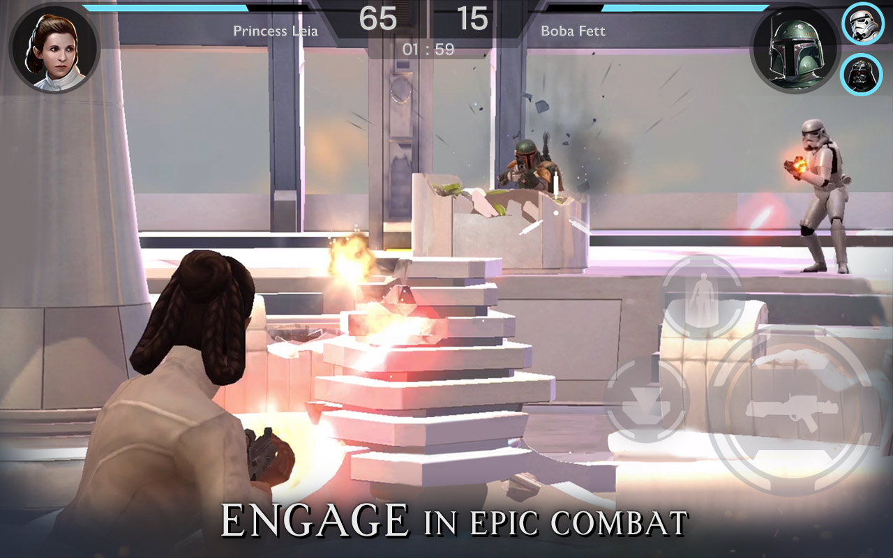 Star Wars: Rivals is PVP fun for your smartphone