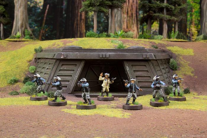 STAR WARS LEGION BNIB REBEL TROOPERS UNIT EXPANSION