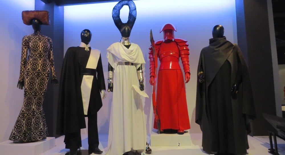 The Last Jedi Costumes On Display At The Fashion Institute Of Design Merchandising Fantha Tracks