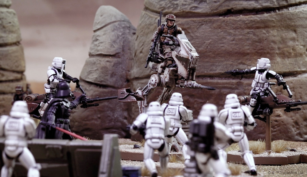 Gaming Review Star Wars Legion Fantha Tracks