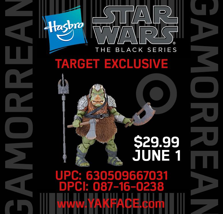 "HASBRO STAR WARS THE BLACK SERIES GAMORREAN GUARD 6 /"" Target Exclusive IN Stock!"