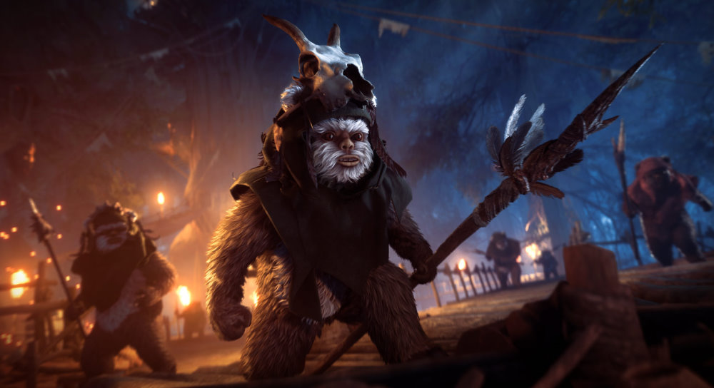 Star Wars Battlefront 2 Microtransactions Return Along With Ewoks In Next Update