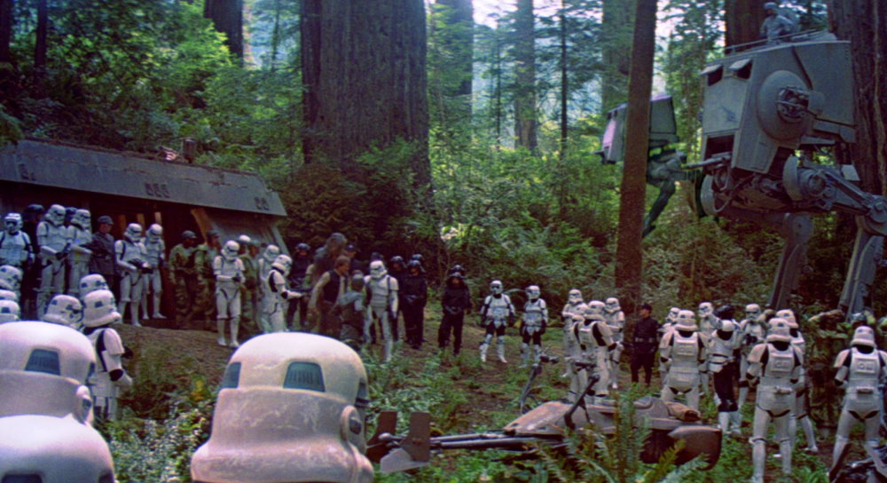 Image result for return of the jedi endor