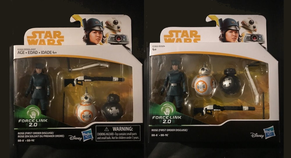 STAR WARS figurine ROSE FIRST ORDER BB-8 BB-9E star wars lucas film Disney