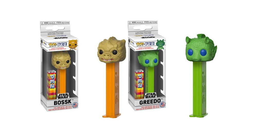 Pre Order Bossk And Greedo Pop Vinyl Pez At Entertainment