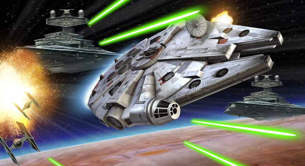 StarWars com look at Galaxy of Heroes: The Flight of the Falcon
