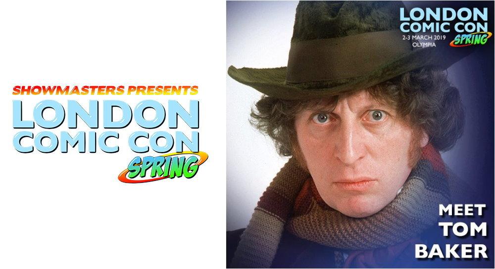 52d7a996015c London Comic Con Spring  Tom Baker attending - Fantha Tracks