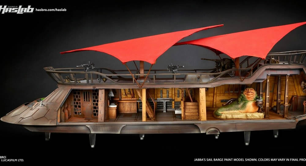 HasLab Jabba's Sail Barge for non-US fans coming to eBay