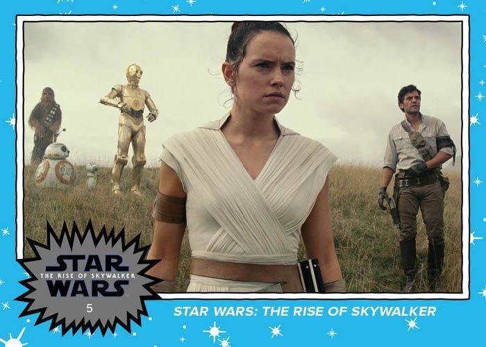 Topps Star Wars The Rise of Skywalker Trailer Trading Card Set