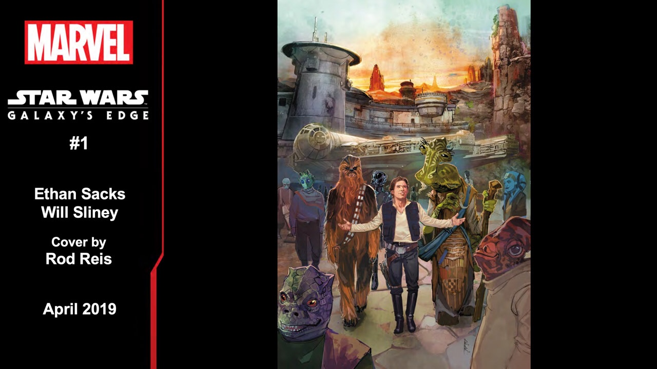 e89b3772 Marvel's upcoming Star Wars: Galaxy's Edge series will take us inside the  infamous outpost. The comic, which ties to the upcoming Star Wars-themed  land of ...