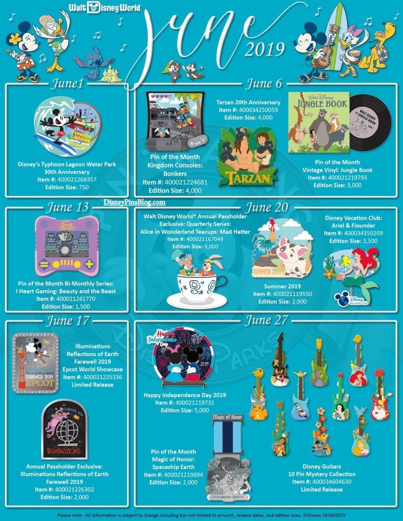 c6f9d791e Disney Parks June 2019 Pin Preview - Disney Pins Blog
