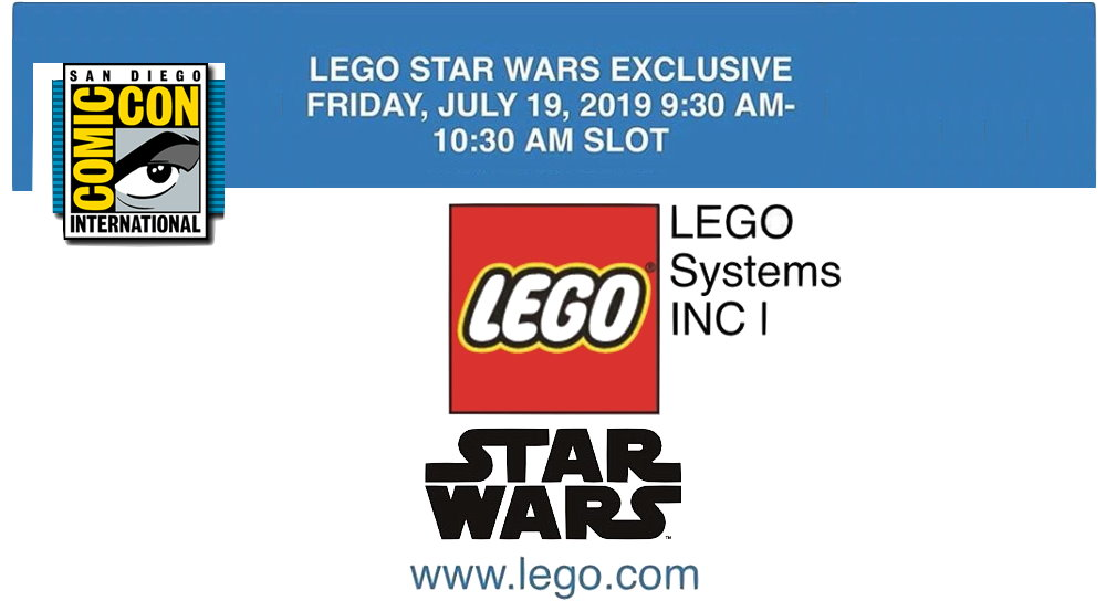 San Diego Comic Con: LEGO Star Wars exclusive coming to SDCC 2019