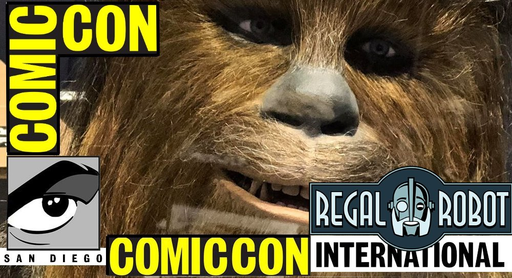 Fantha Tracks at San Diego Comic Con: Regal Robot booth