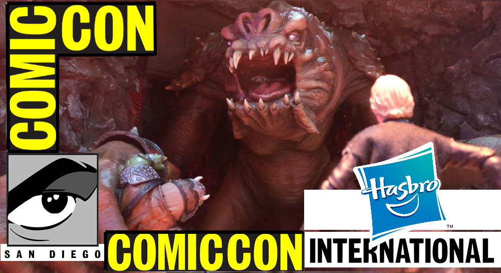 Fantha Tracks at San Diego Comic Con: Hasbro Booth - Fantha