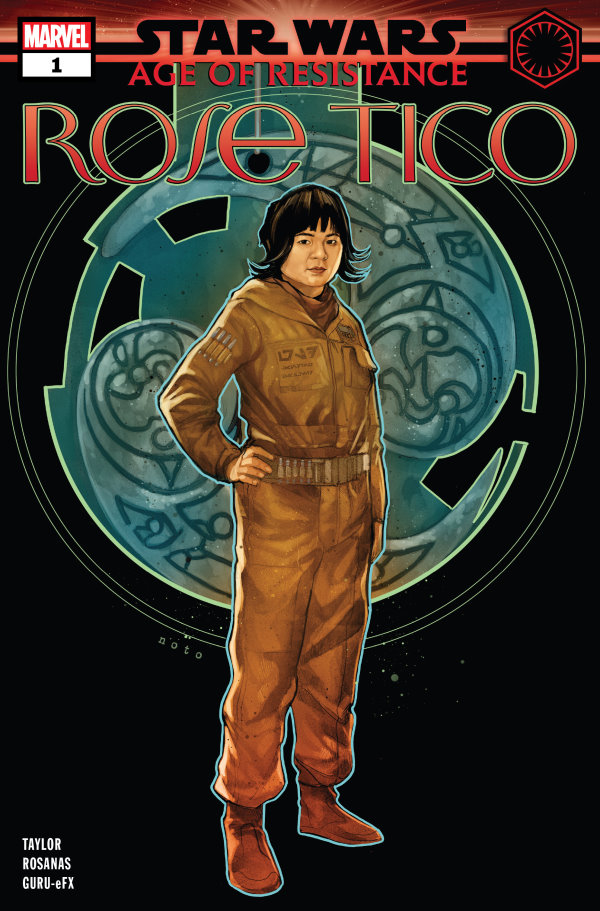 Star Wars AOR Age Of Resistance Rose Tico #1 Puzzle Variant NM 2019
