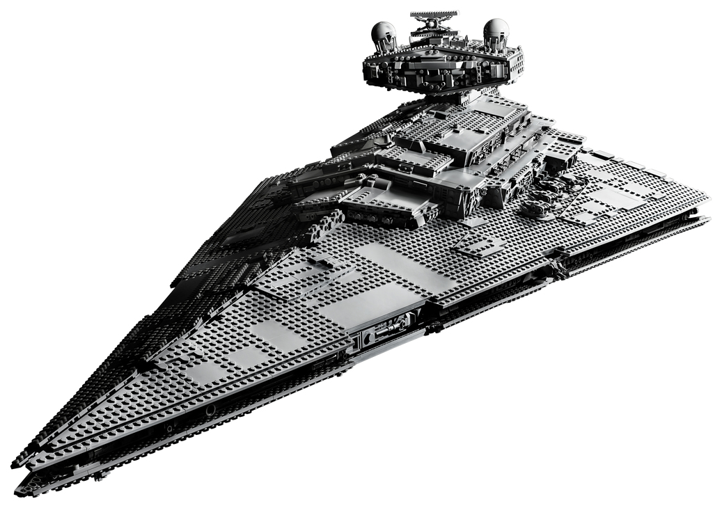 Introducing the 4,784 piece UCS Imperial Star Destroyer