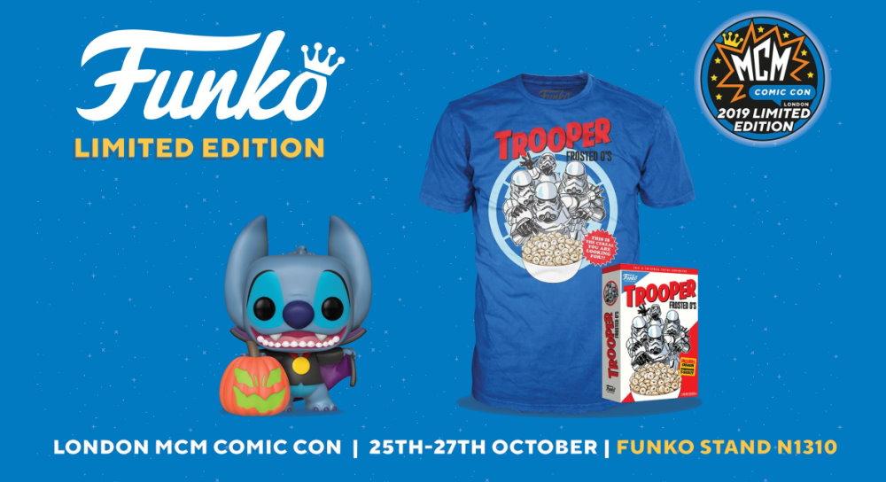 Mcm Comic Con London Funko Exclusives Fantha Tracks