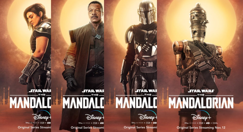 The Mandalorian Character Posters Arrive Fantha Tracks