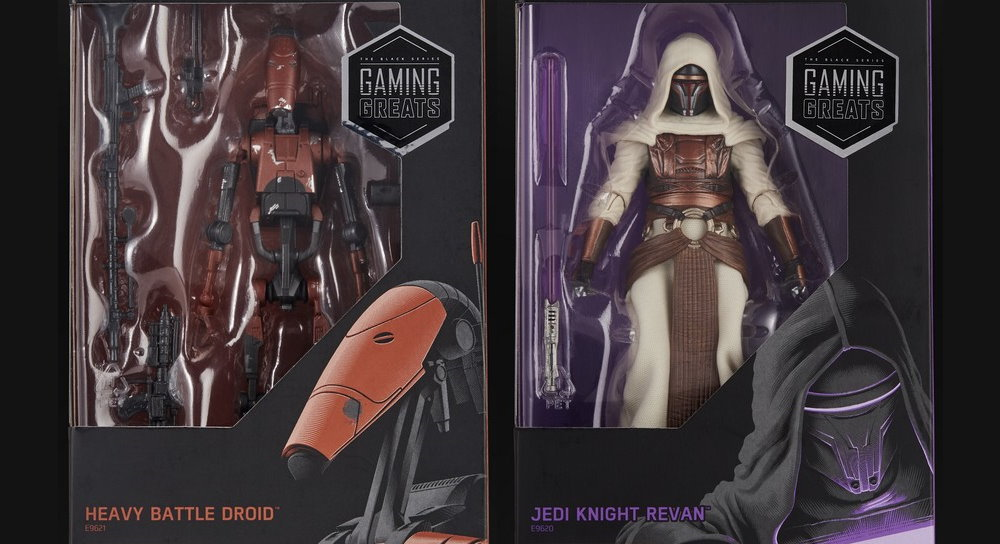Jedi Knight Revan Star Wars Black Series Gaming Greats