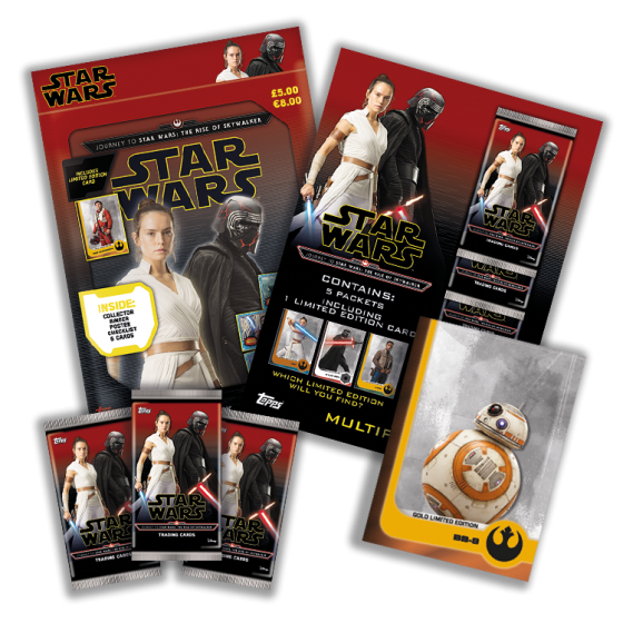 Competition Win A Set Of Topps Journey To The Rise Of Skywalker Prizes Fantha Tracks