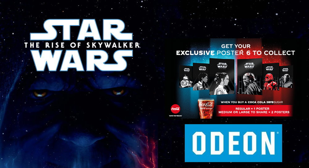 Exclusive Star Wars The Rise Of Skywalker Posters At Odeon Cinemas Fantha Tracks