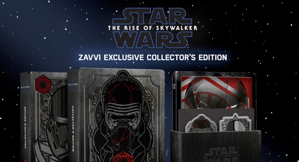 The Rise Of Skywalker Steelbooks On Pre Order At Zavvi Fantha Tracks