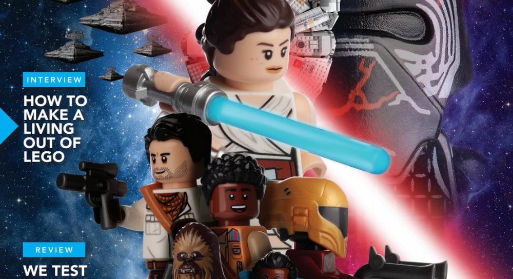 Blocks Magazine Issue 63 A Lego Celebration Of Star Wars The Rise Of Skywalker Fantha Tracks