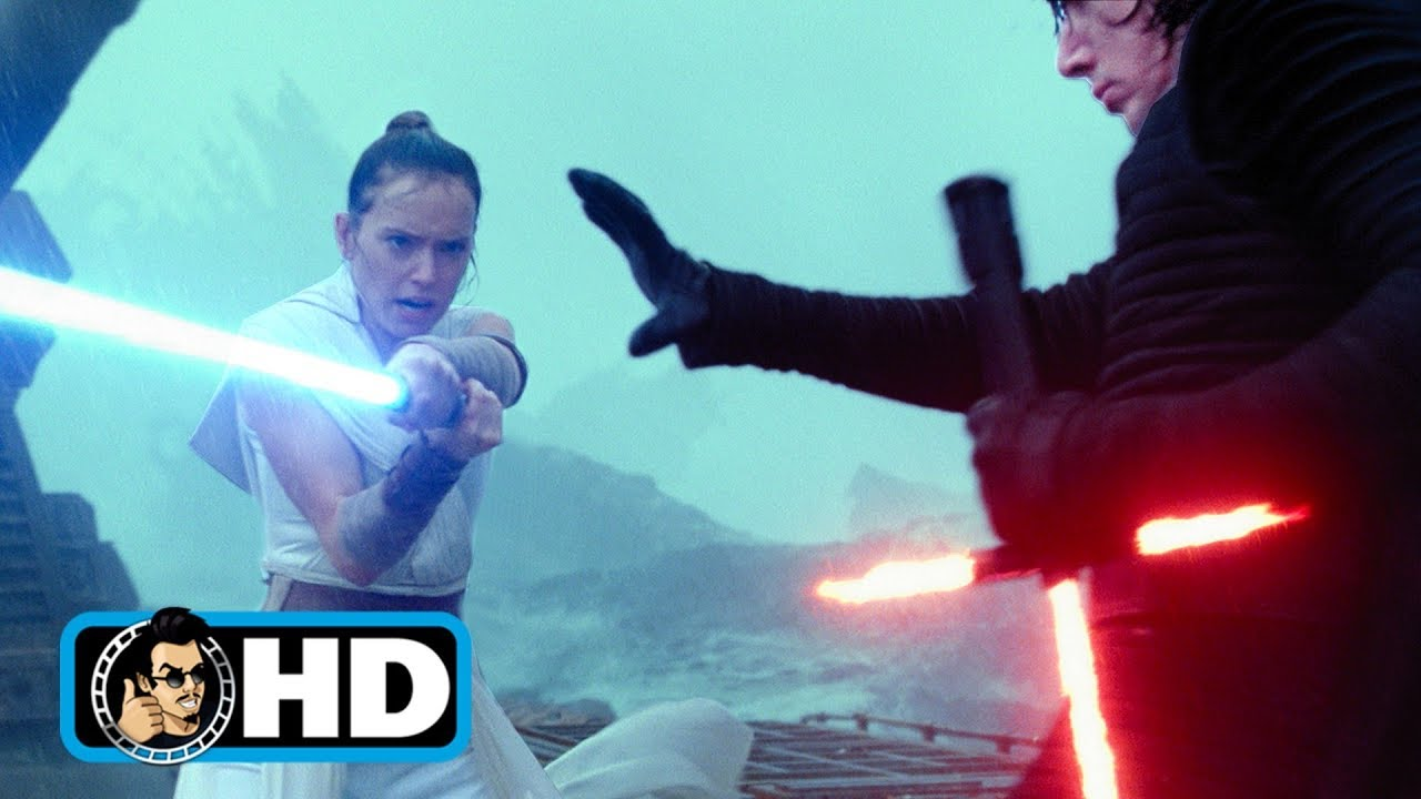The Rise Of Skywalker Rey Vs Kylo Ren Movie Clip Fantha Tracks