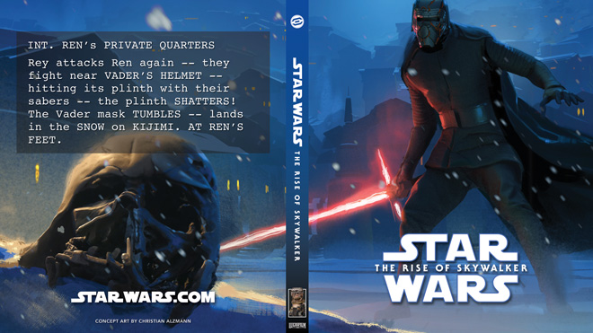 Home Made Covers And Slipcases For Your The Rise Of Skywalker Blu Ray Fantha Tracks