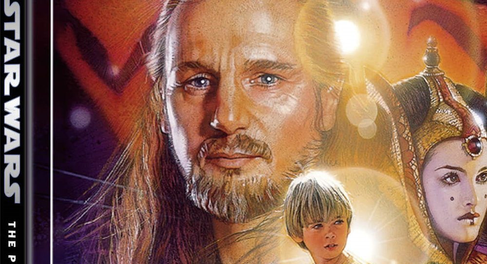 Star Wars Episode I The Phantom Menace Zavvi Exclusive 4k Ultra Hd Steelbook 3 Disc Edition With Blu Ray Fantha Tracks