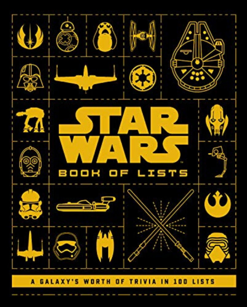 Book Review: Star Wars: The Book of Lists Fantha Tracks