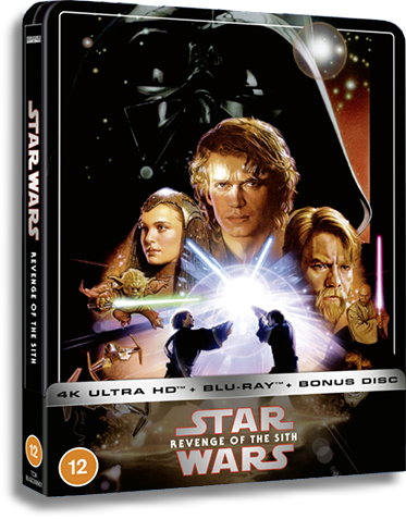 Star Wars Episode Iii Revenge Of The Sith Zavvi Steelbook Goes Live 12 00pm Gmt Today Fantha Tracks