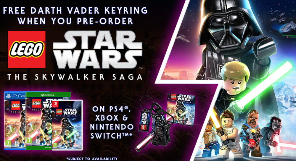 Pre Order Lego Star Wars The Skywalker Saga To Get A Free Keyring Fantha Tracks