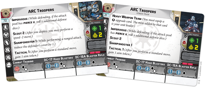 Fantasy Flight Games Preview The Arc Troopers Unit Expansion For Star Wars Legion Fantha Tracks