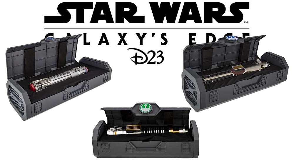 D23 Gold Members New Legacy Lightsaber Hilts Coming 19th November To Shopdisney Fantha Tracks